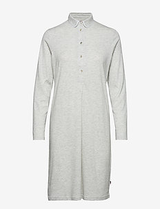 Ava Jersey Nightshirt - koszulki do spania - lt. gray