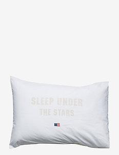 Printed Pillowcase - WHITE