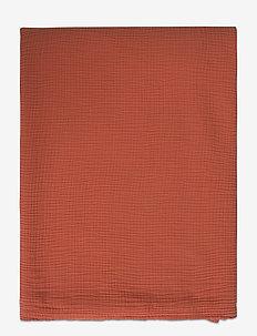 Cotton Bedspread - sprei - apricot