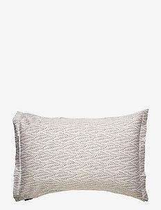 Printed Leaf Sateen Pillowcase - pillowcases - autumn leaf