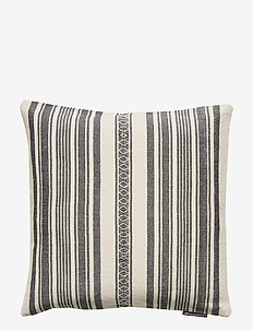 Striped Linen Cotton Sham - CREME