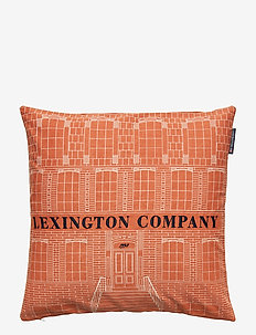 House Sham - pillowcases - rust