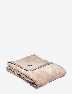 Faux Fur Blanket - BEIGE