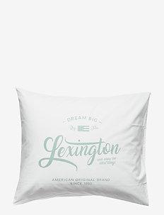 Lexington Printed Pillowcase - Örngott - white