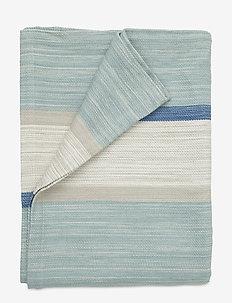 Striped Bedspread - sprei - blue