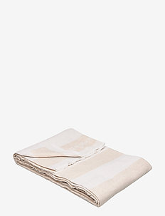 Wool Flag Throw - viltit - beige