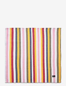 Multi Striped Cotton Napkin - vaisselle - multi