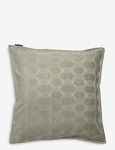 Jacquard Cotton Velvet Pillow Cover 65x65cm - poszewki na poduszki ozdobne - sage green