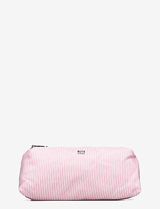 Icons Small Toilet Bag - meikkilaukut - pink/white stripe