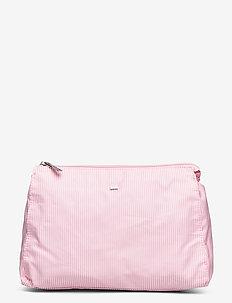 Icons Big Toilet Bag - meikkilaukut - pink/white stripe