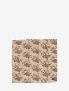 Printed Multi Flower Cotton Napkin - vaisselle - lt beige multi