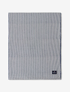Striped Recycled Cotton Rips Runner - nappes et chemins de table - blue/white