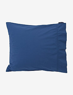 Blue Washed Cotton Pillowcase - pillowcases - blue