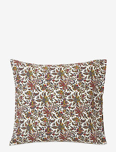Printed Cotton Sateen Pillowcase - pillowcases - multi