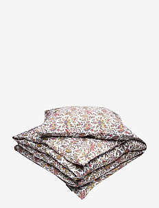 Printed Cotton Sateen Bed Set - påslakan - multi