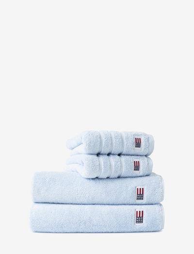 Original Towel Cloud Blue - hand towels & bath towels - cloud blue
