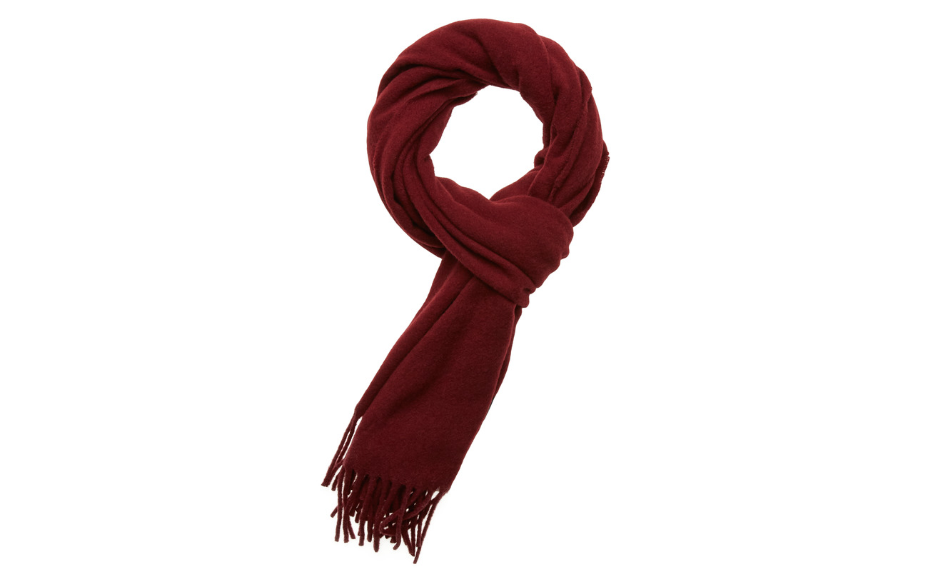 Lexington Clothing Massachussets Scarf - DARK RED