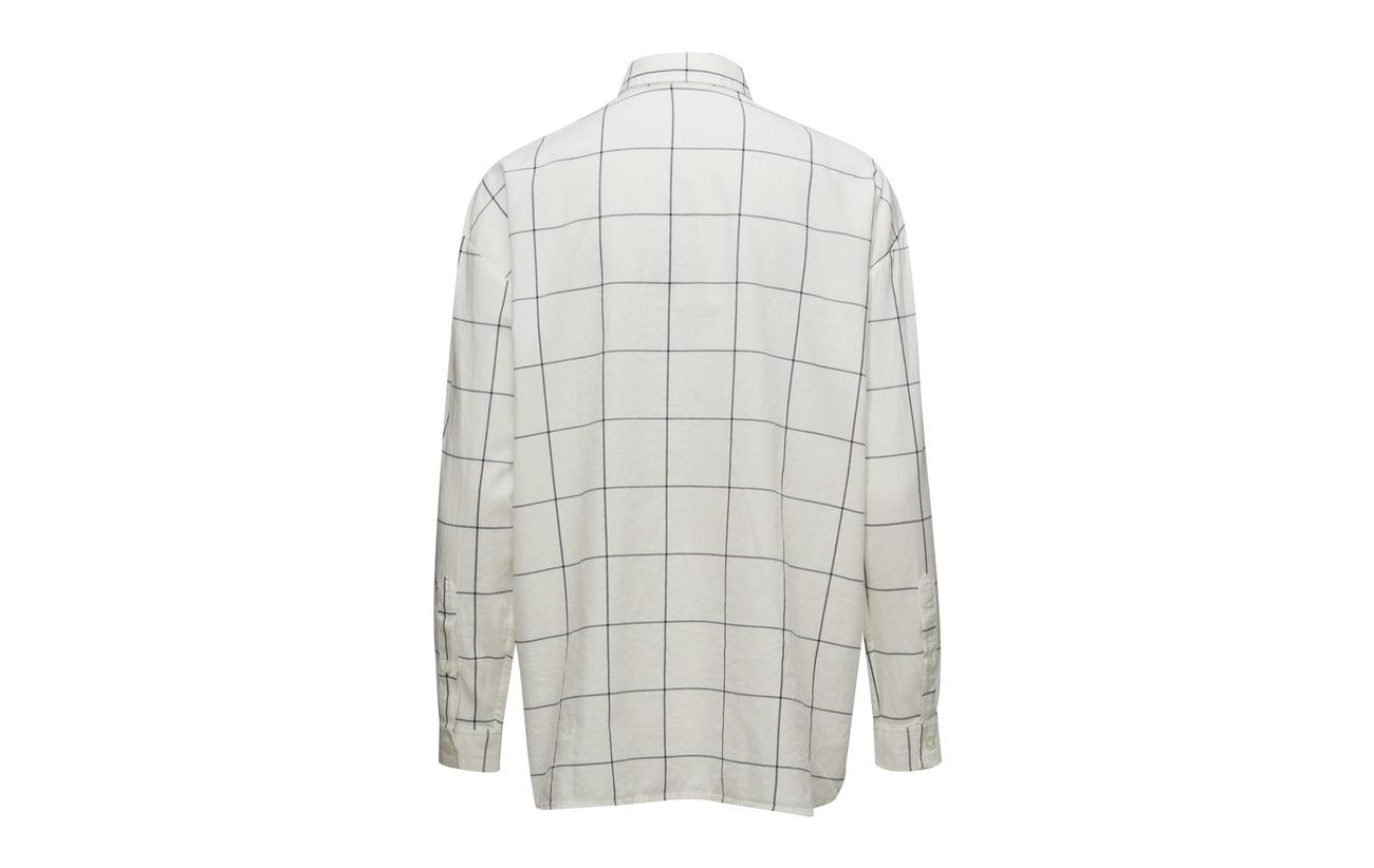 Coton Shirt Clothing Oxford 2 Check White Edith Lt blue Lexington 100 f7IqSwvPxq