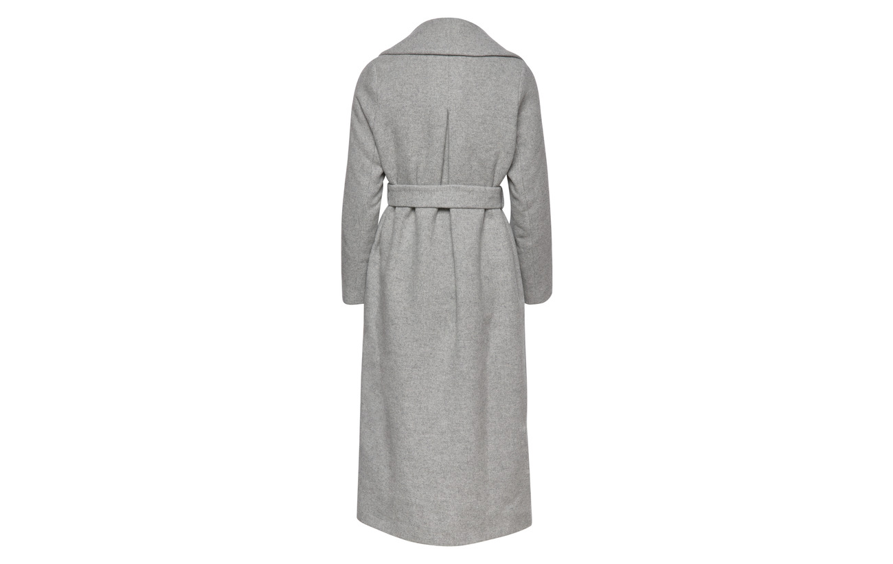 Melange Long Gray Lexington Polyester Coat Clothing Heather 30 Laine 70 Équipement Mila 4nqTRU