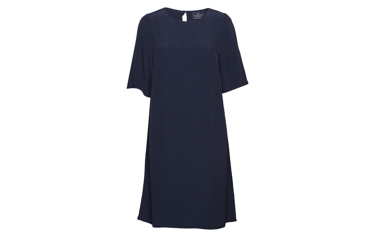 Clothing Marine Dress Deep Équipement Viscose Blue Lexington Grace 100 dpZqdI