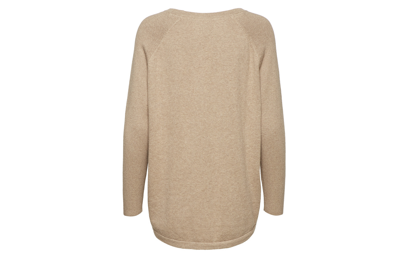 Dark Clothing Sweater Gray Melange Lexington 95 Lea Cachemire 5 Coton Équipement 64nwqP