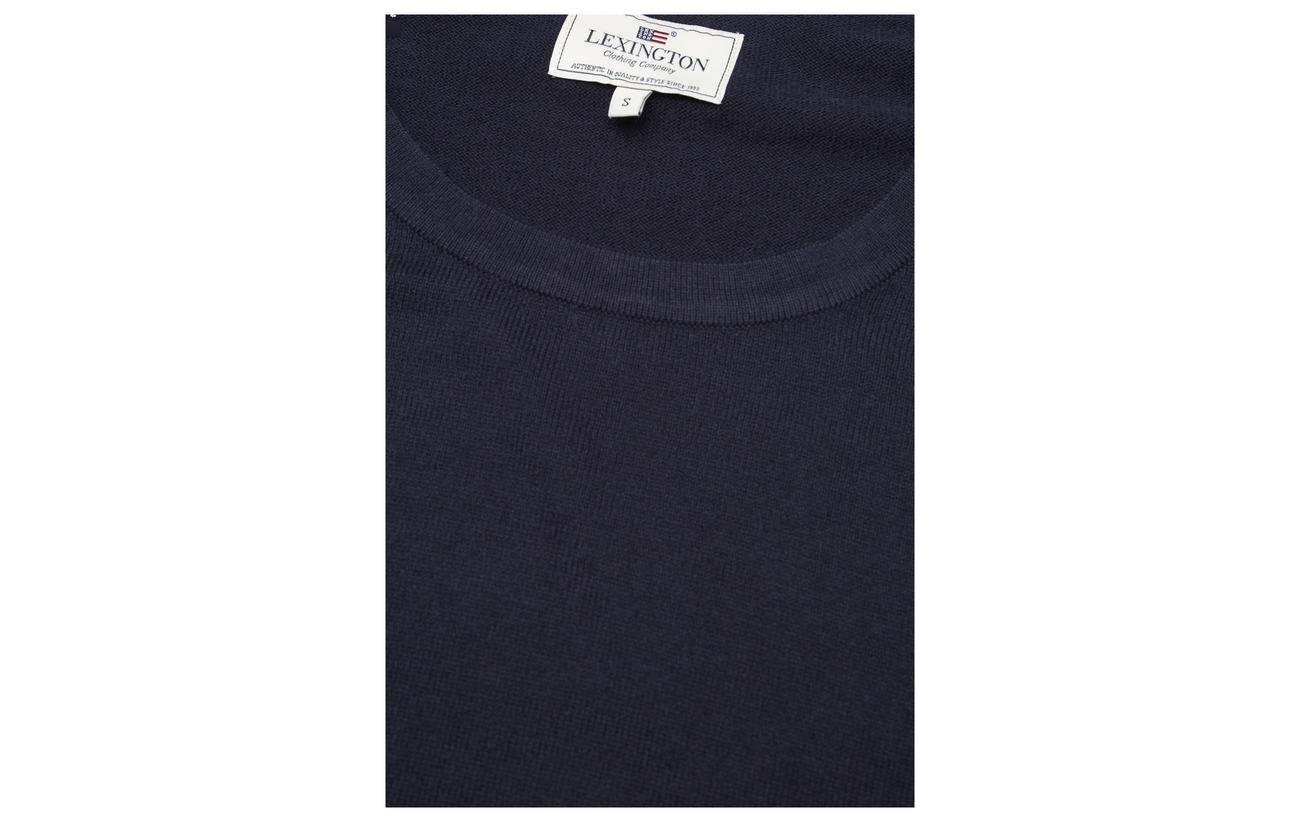 Lexington Warm 95 Cachemire Lea 5 Clothing Lt Melange Gray Coton Sweater Équipement TrwTqgO