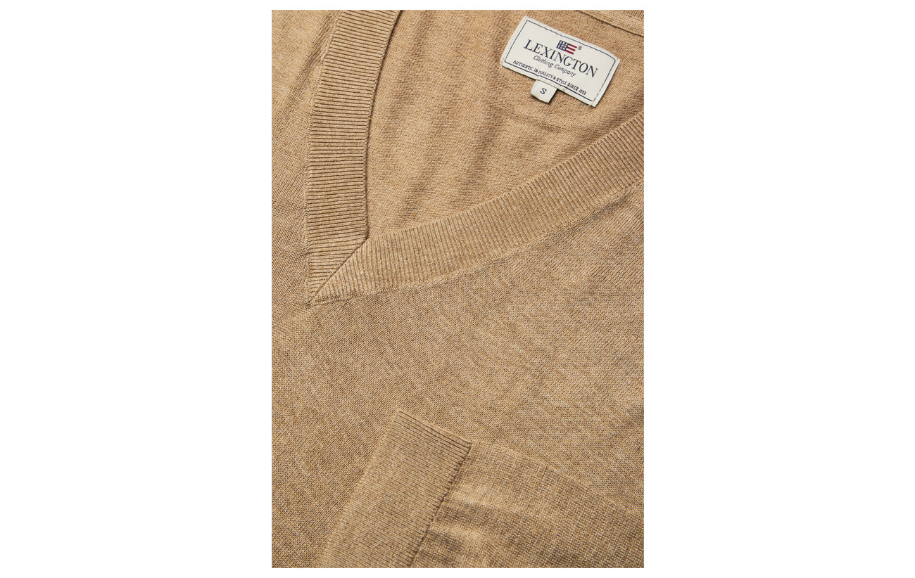 Ana Coton 50 Bamboo Clothing Camel Cotton Lexington Sweater 6zqRT5zw