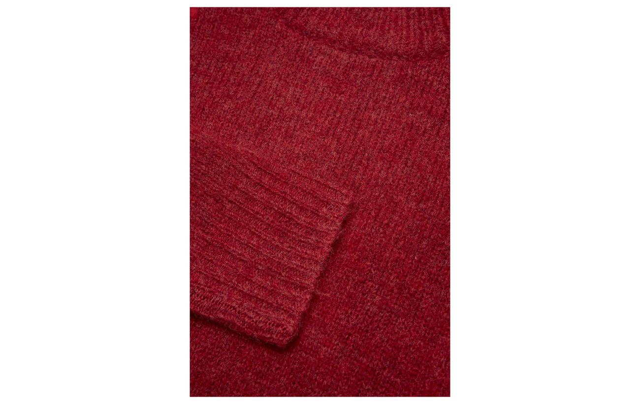 Équipement Lexington Nylon 80 Laine Talula 20 Clothing Red Rosewood Sweater gqqr6CpX