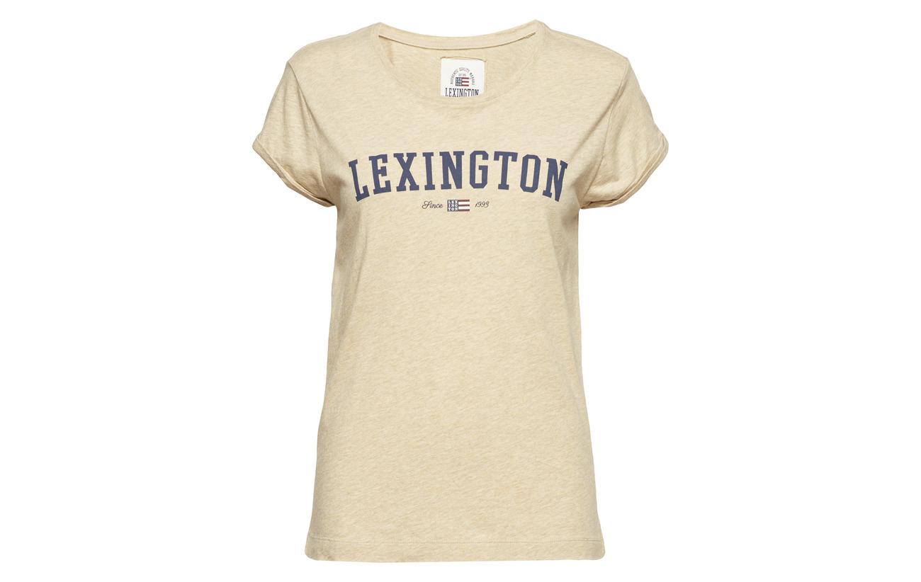 100 Tee Lexington Coton Clothing Vanessa Équipement Heather Melange Gray qqgw0