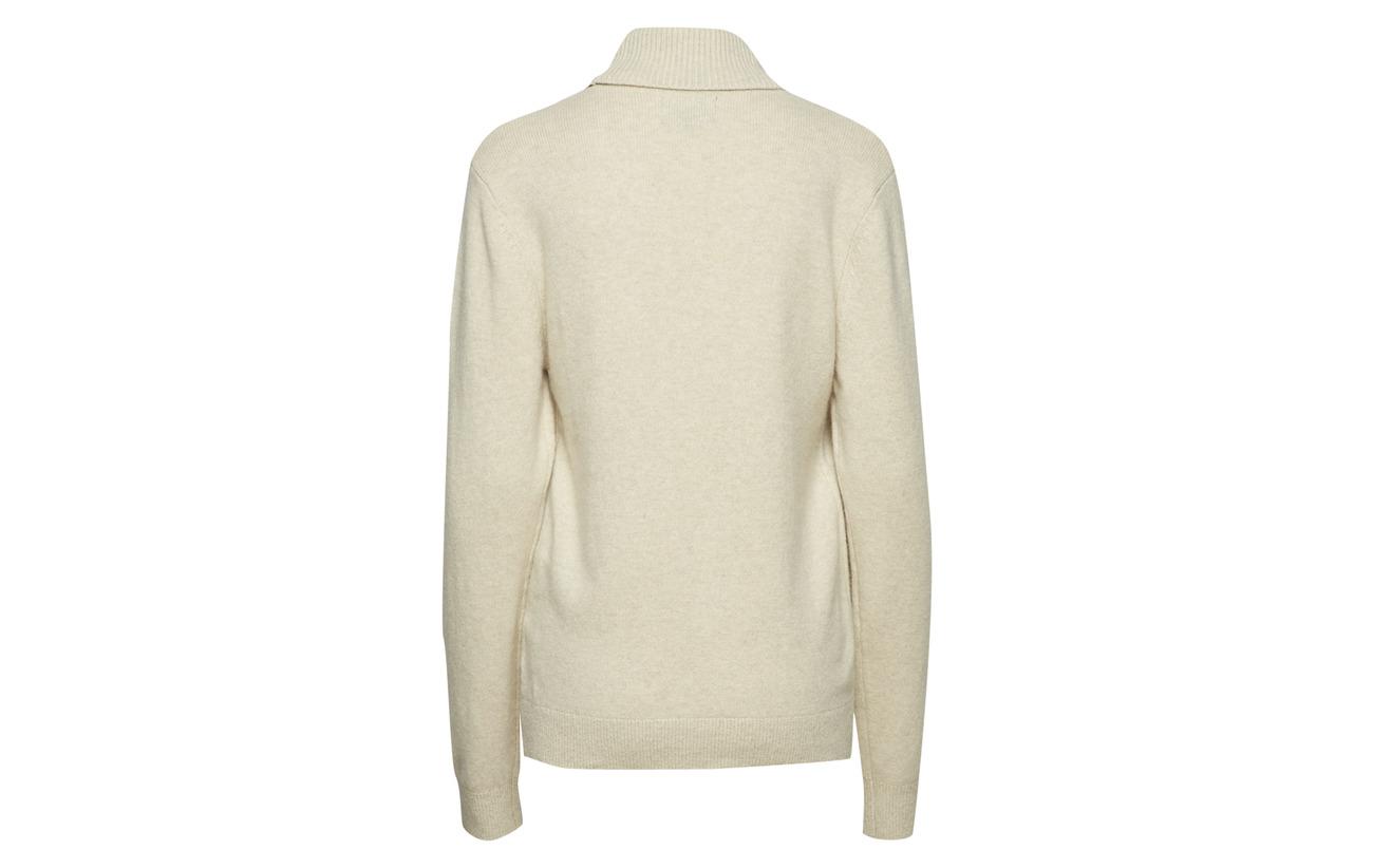 Laine Lexington Kent Mérino 25 Gray Clothing Coton Feather Rollneck Sweater 20 Nylon 55 r0r5wq