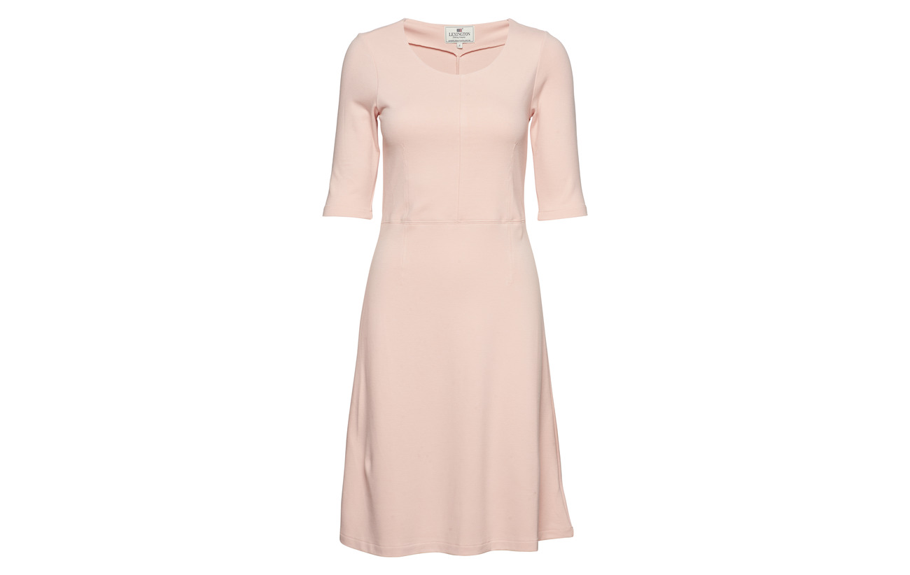 Dress Pink Viscose Elastane Clothing Scarlett 6 Lexington Seashell neck U 94 qgIZFZw