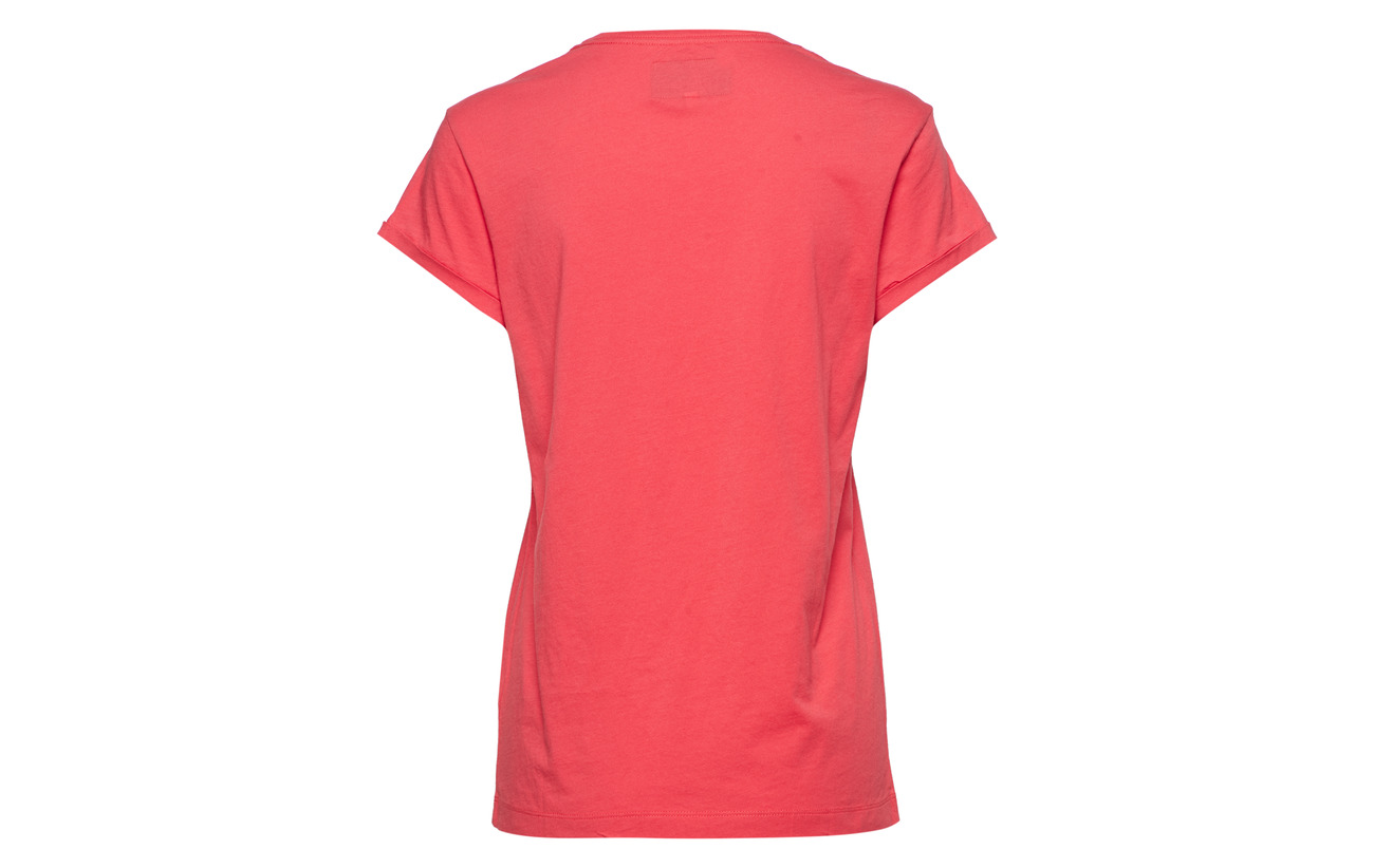 Lexington Coton Red Vintage Tee Vanessa Clothing 100 xArwxvY