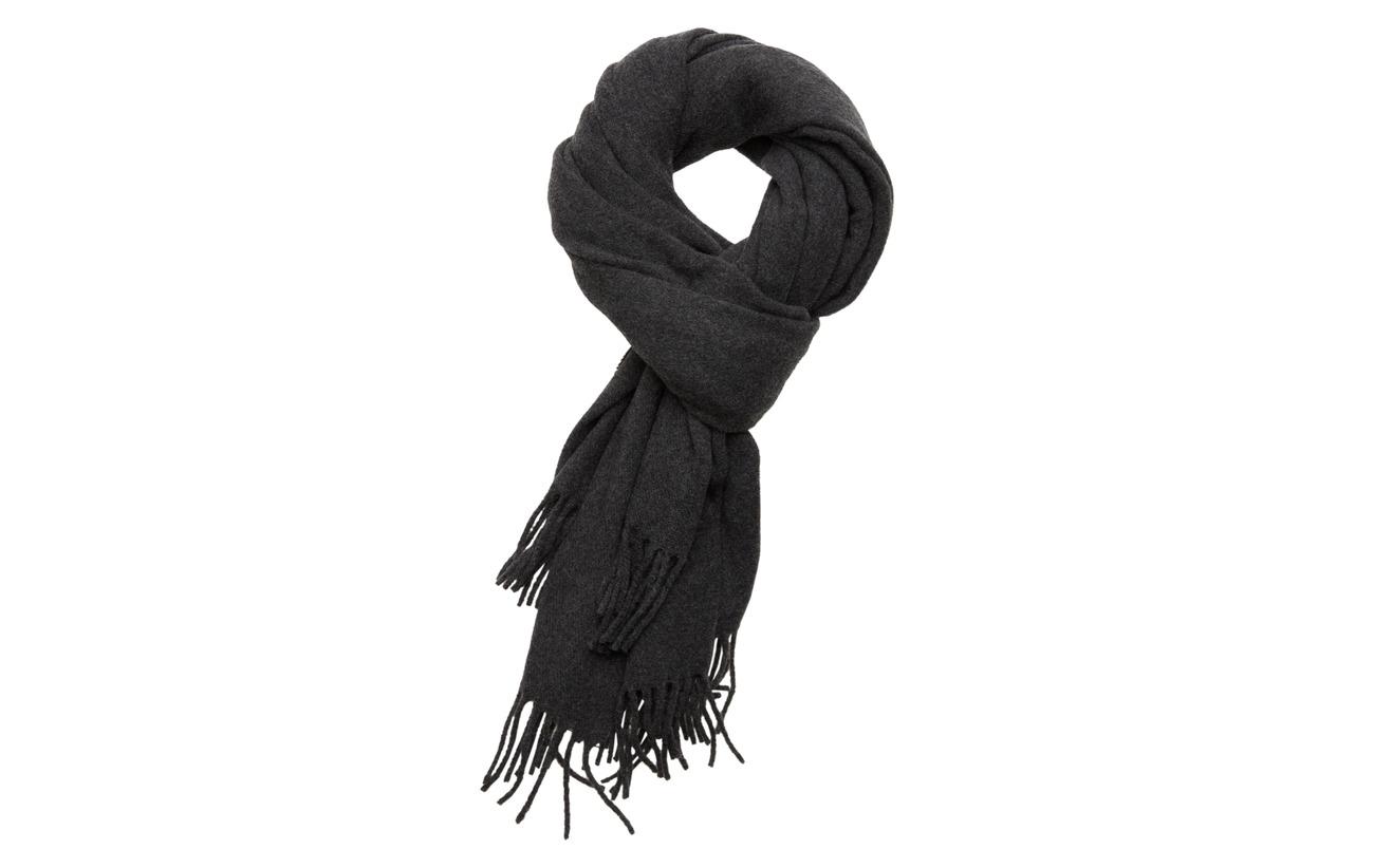 Lexington Clothing Aurora Wool Scarf - DARK GRAY MELANGE