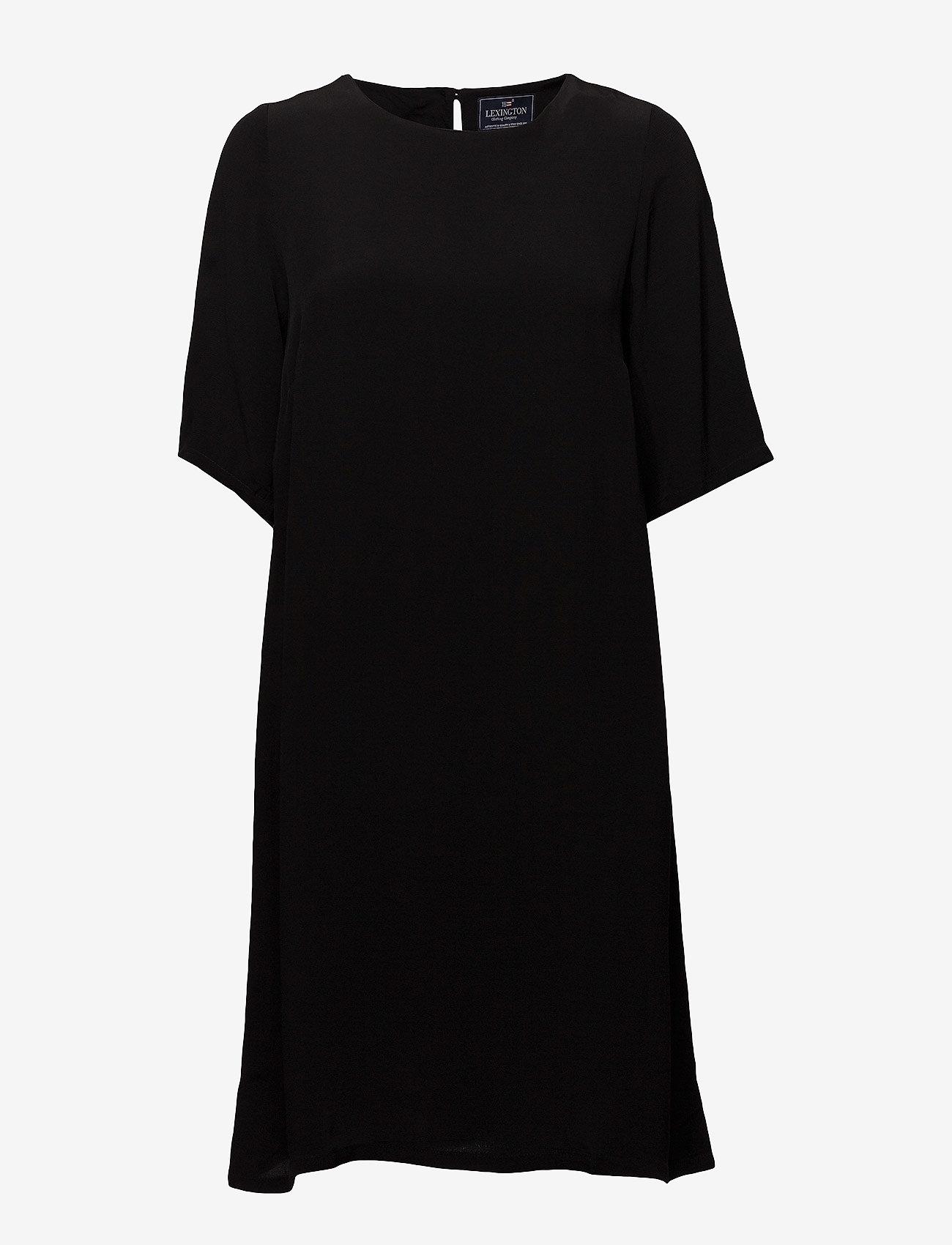 Lexington Clothing - Grace Dress - midimekot - caviar black