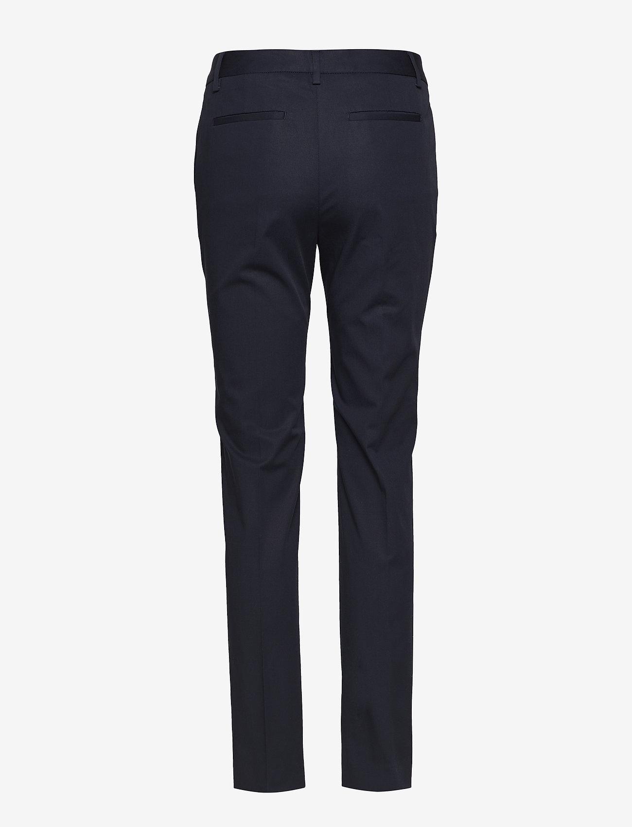 Blake Narrow Leg Pants (Deep Marine Blue) - Lexington Clothing cfGPyJ