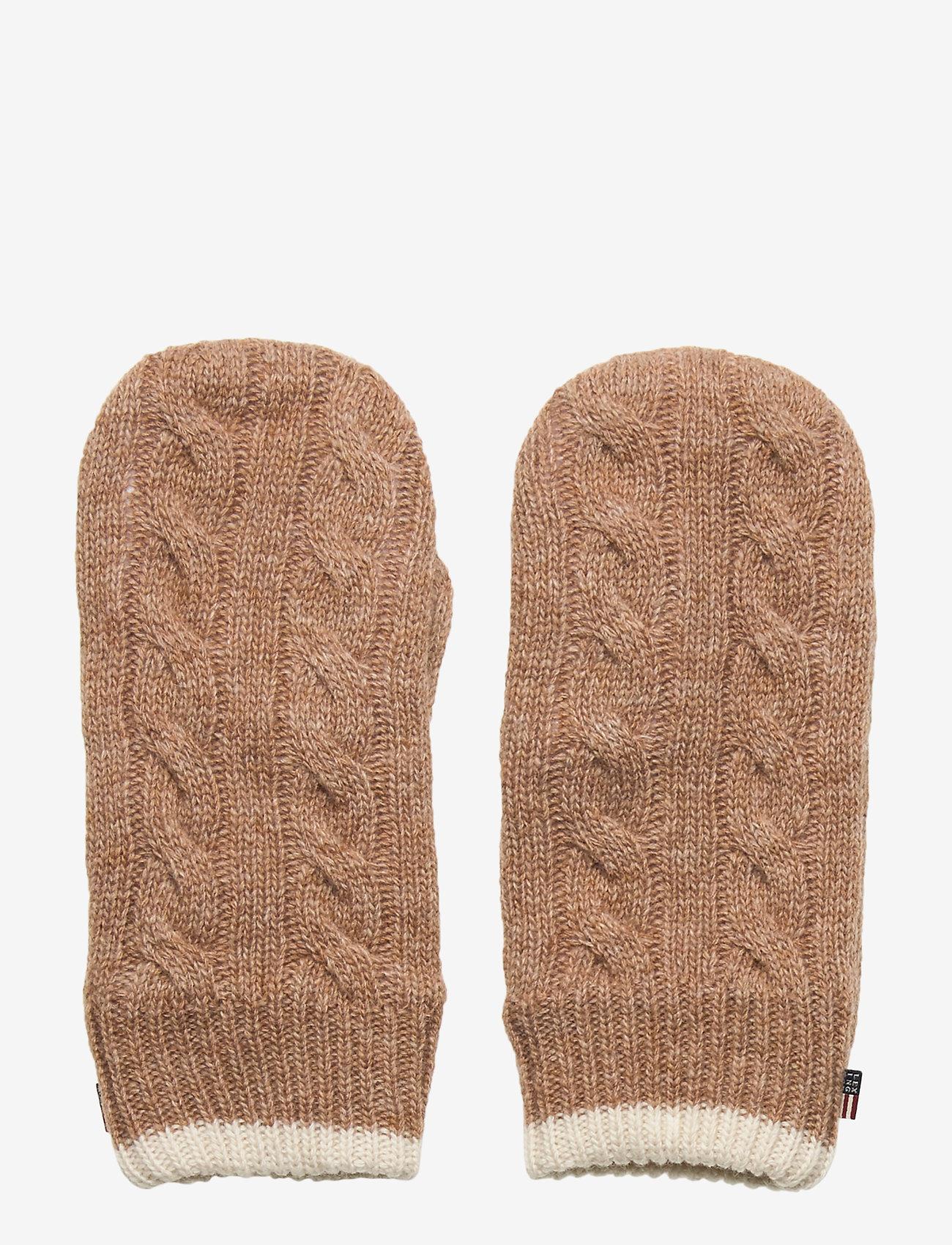 Lexington Clothing - Tyler Mittens - rękawiczki - beige - 0