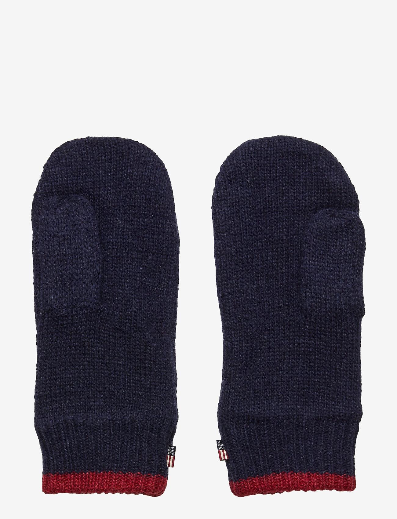 Lexington Clothing - Tyler Mittens - rękawiczki - blue - 1