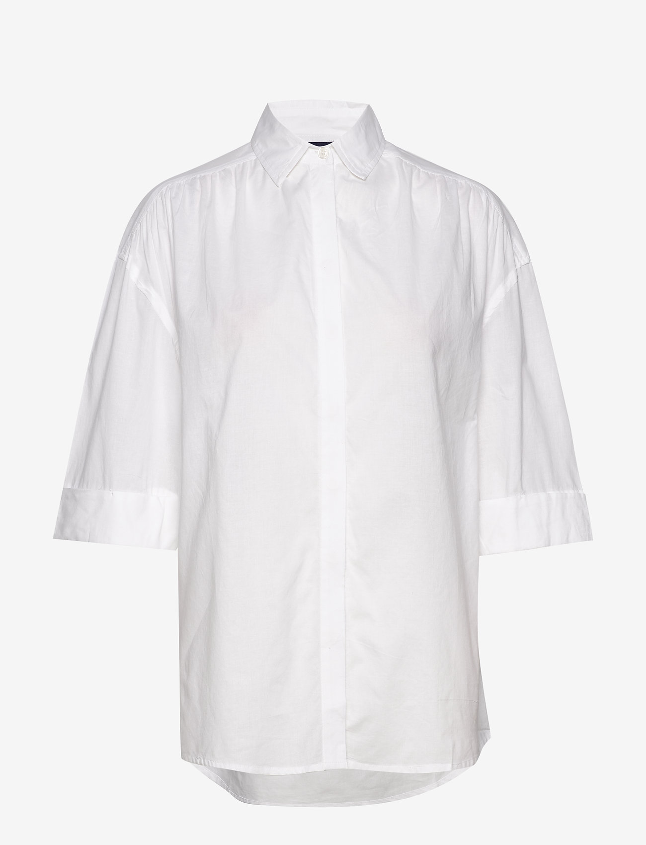 Lexington Clothing - Olympia Shirt - overhemden met korte mouwen - white - 0