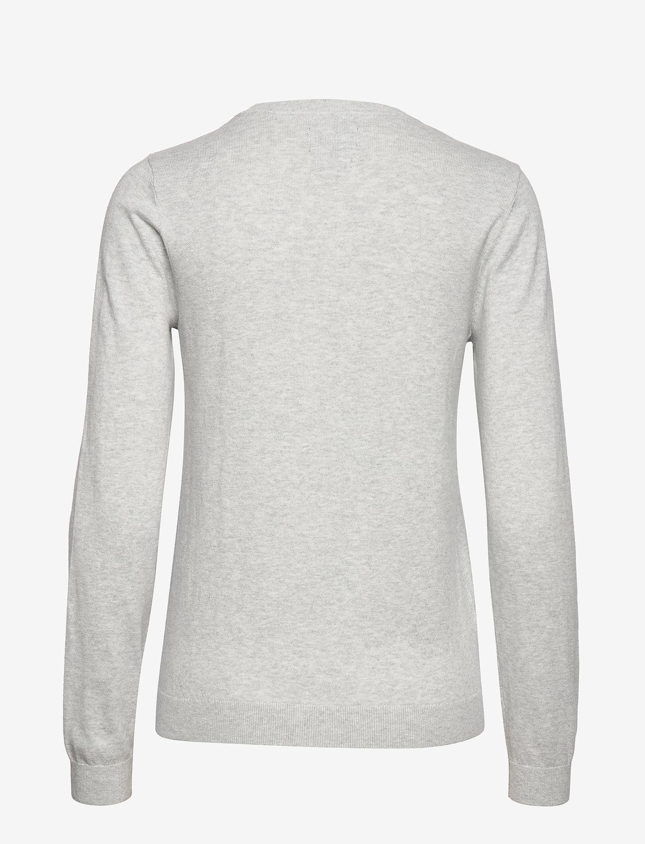 Lexington Clothing Marline Sweater - Dzianina GRAY MELANGE - Kobiety Odzież.