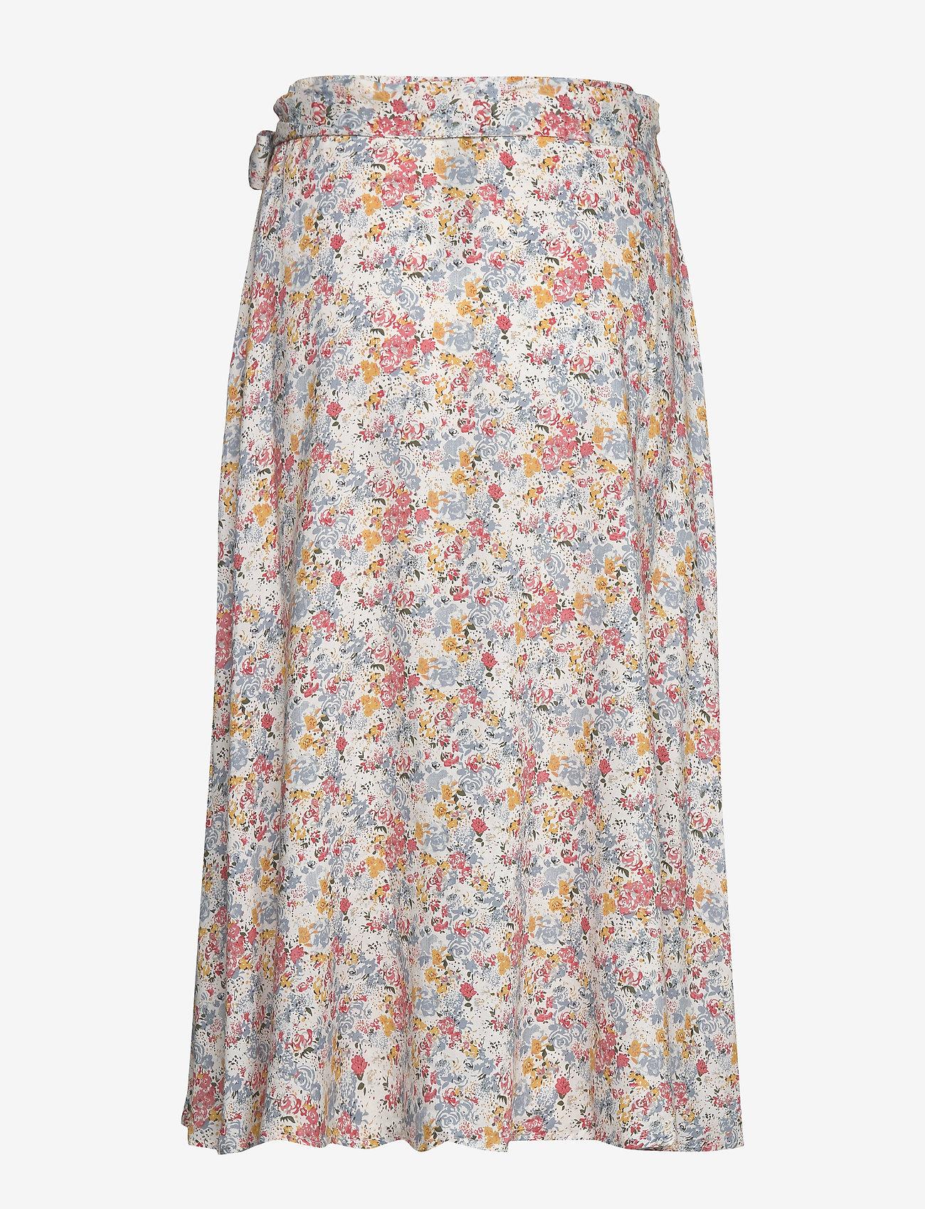Rose Wrap Skirt (Meadow Print) (104.30 €) - Lexington Clothing LMUU0