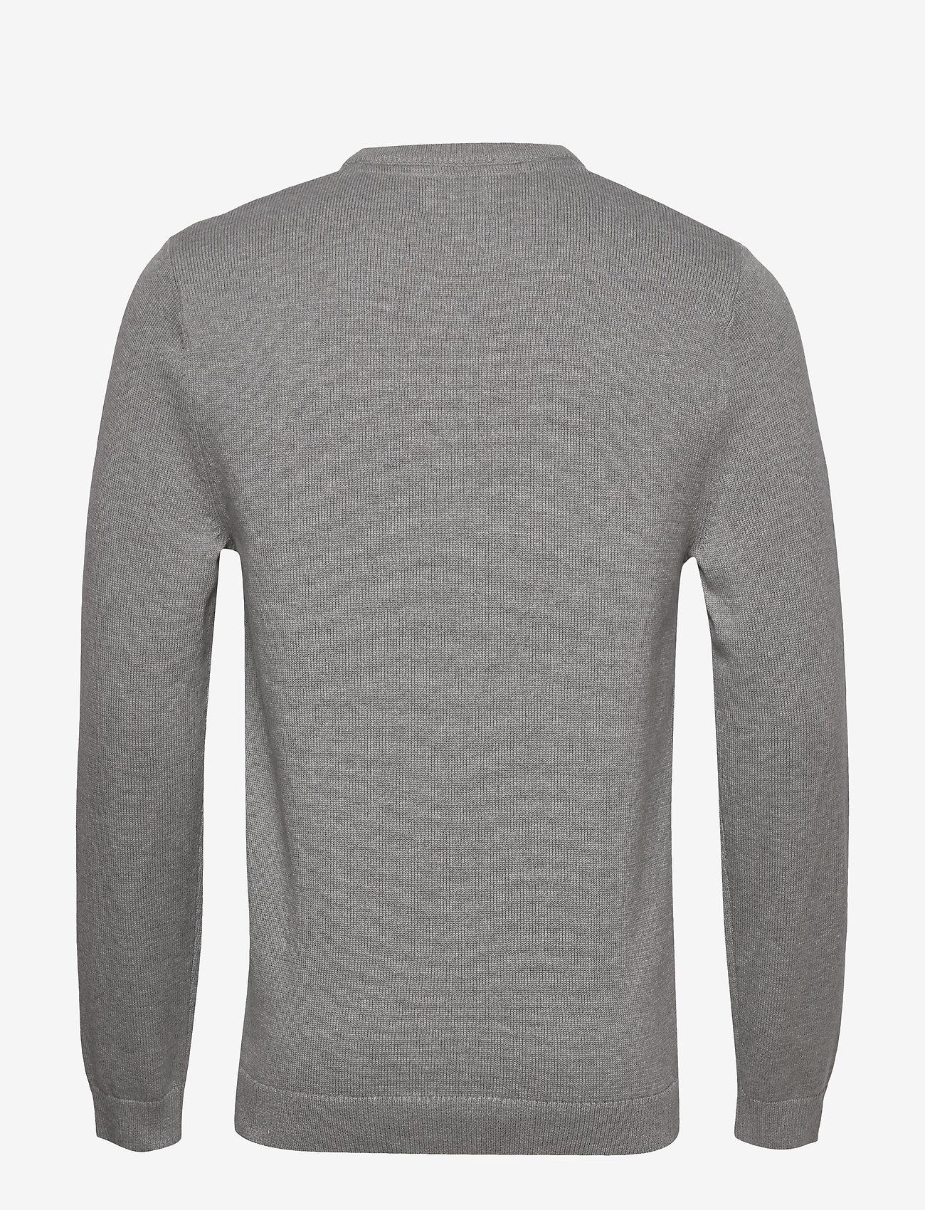 Lexington Clothing Luis Sweater - Strikkevarer GRAY MELANGE - Menn Klær