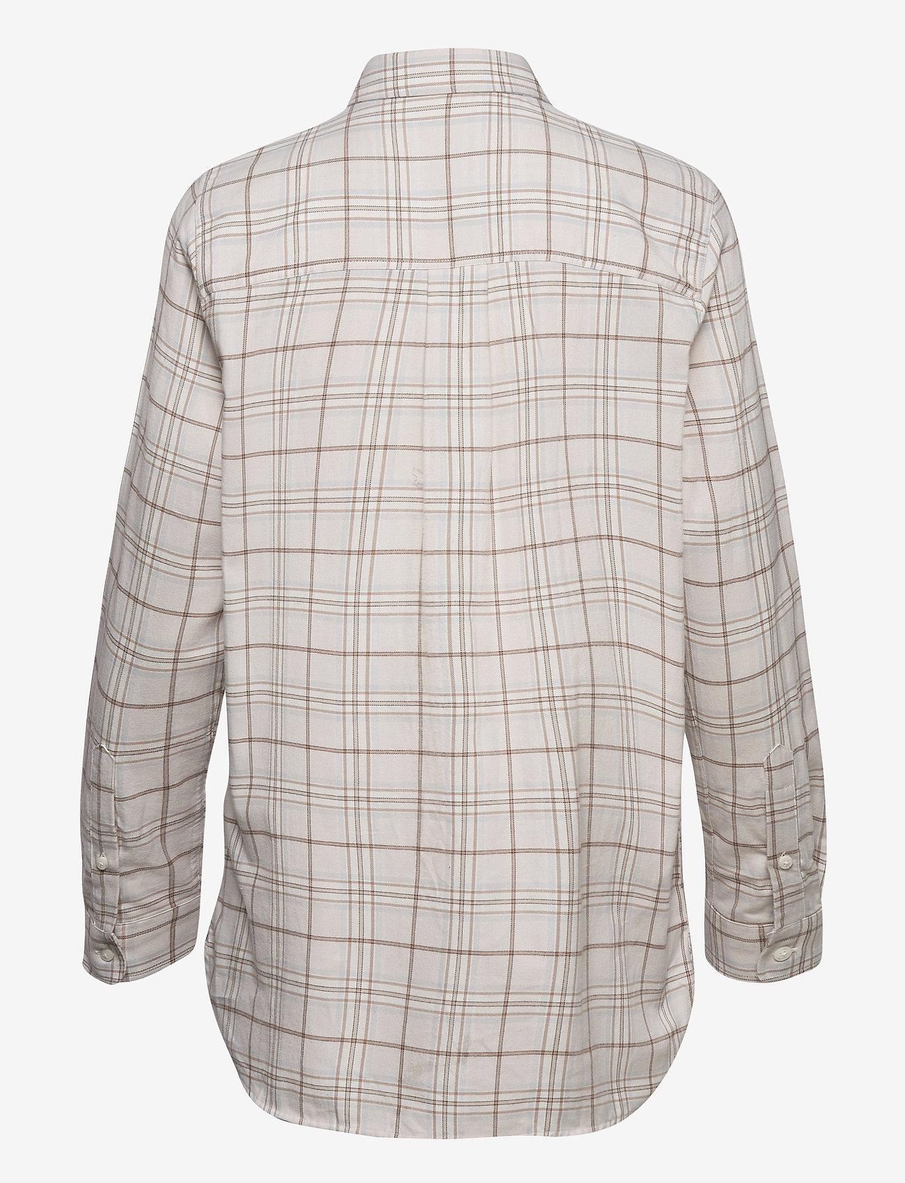 Isa Check Organic Cotton Flannel Shirt   - Lexington Clothing -  Women's Blouses & Shirts Manchester