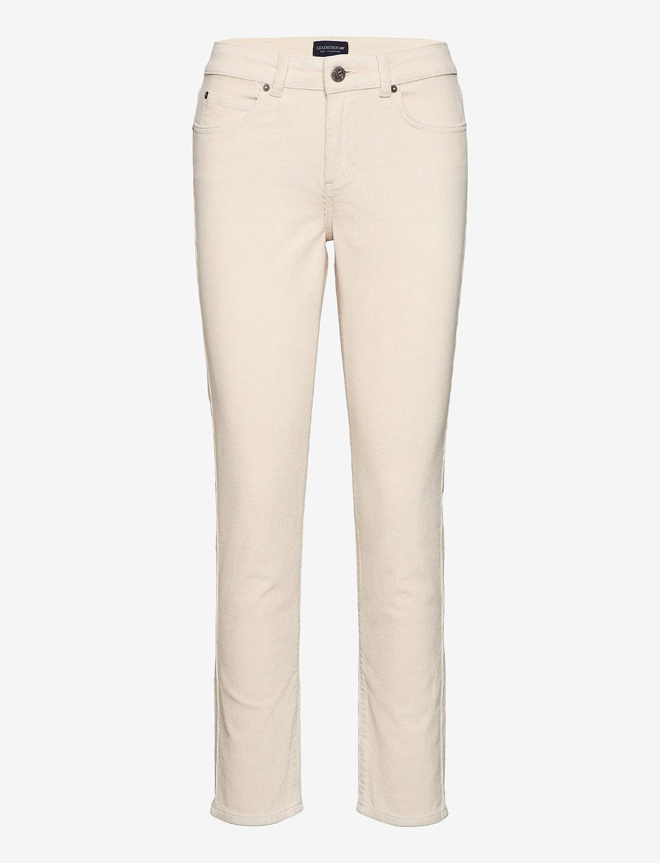 Lexington Clothing - Zoe Corduroy Pants - straight jeans - light beige - 0