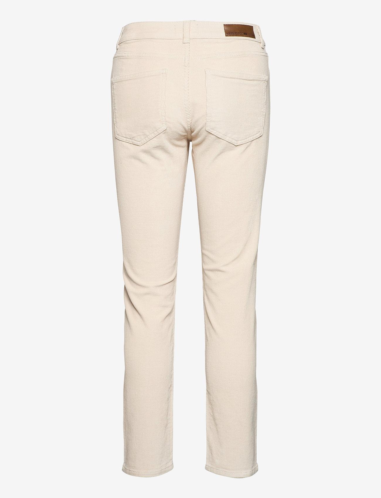 Lexington Clothing - Zoe Corduroy Pants - straight jeans - light beige - 1