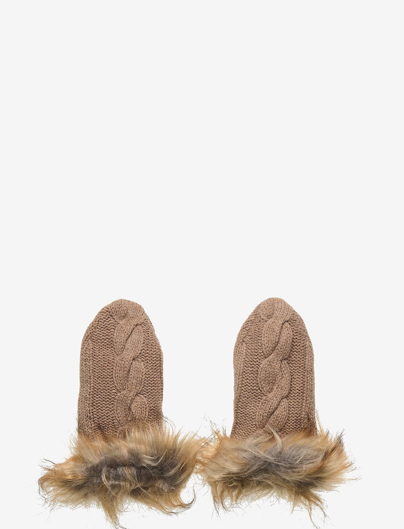 Lexington Clothing - Minetta Mittens - handschoenen - beige melange - 0