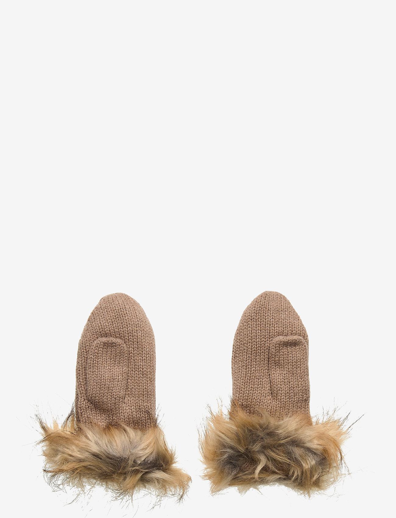 Lexington Clothing - Minetta Mittens - handschoenen - beige melange - 1