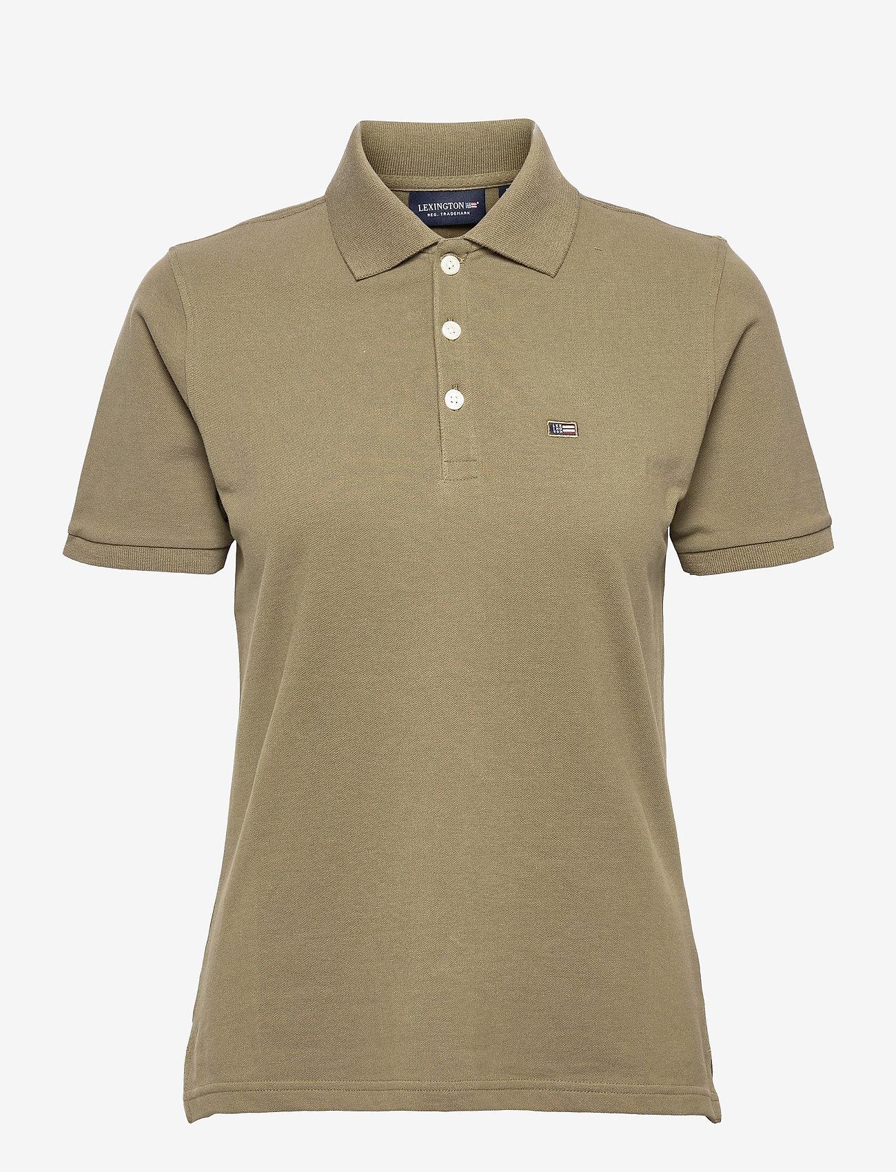 Lexington Clothing - Jess Pique Polo Shirt - polohemden - green - 1