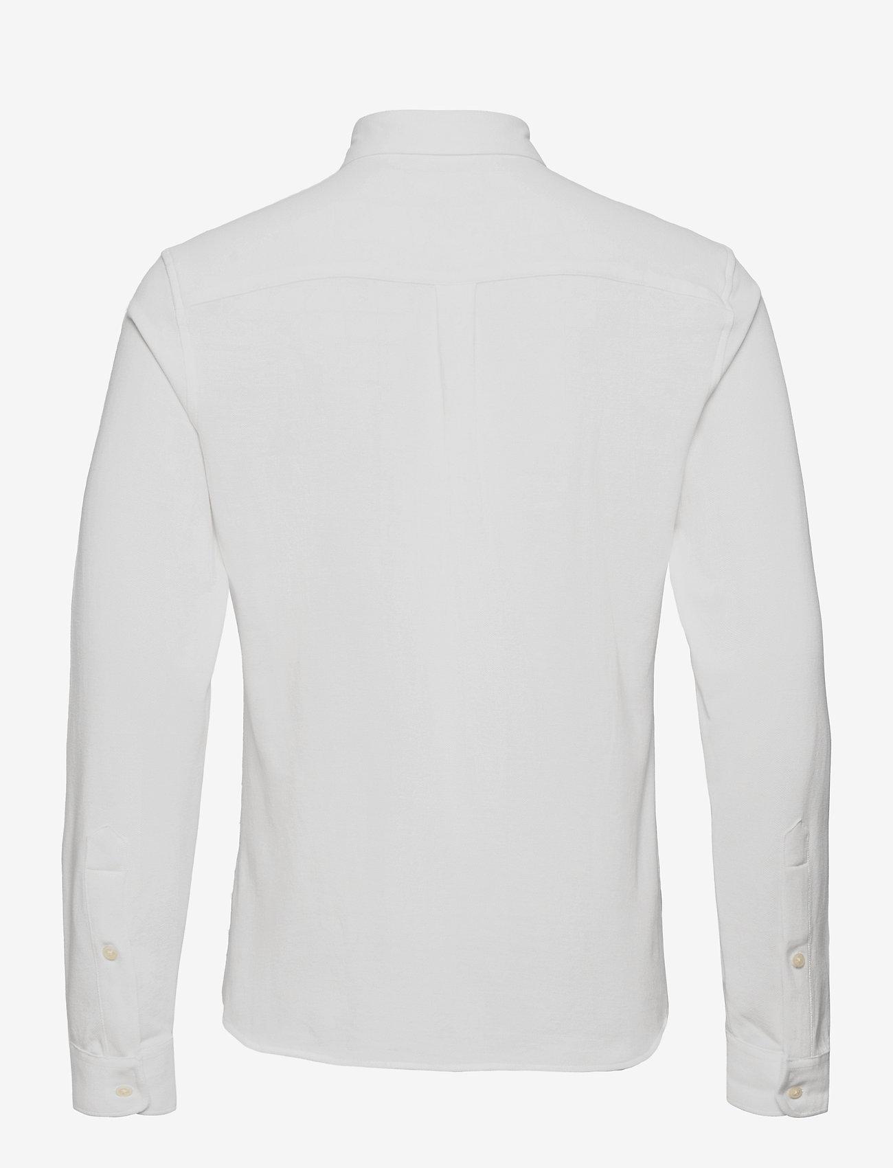 Lexington Clothing - Brett Organic Cotton Pique Shirt - chemises à carreaux - white - 2