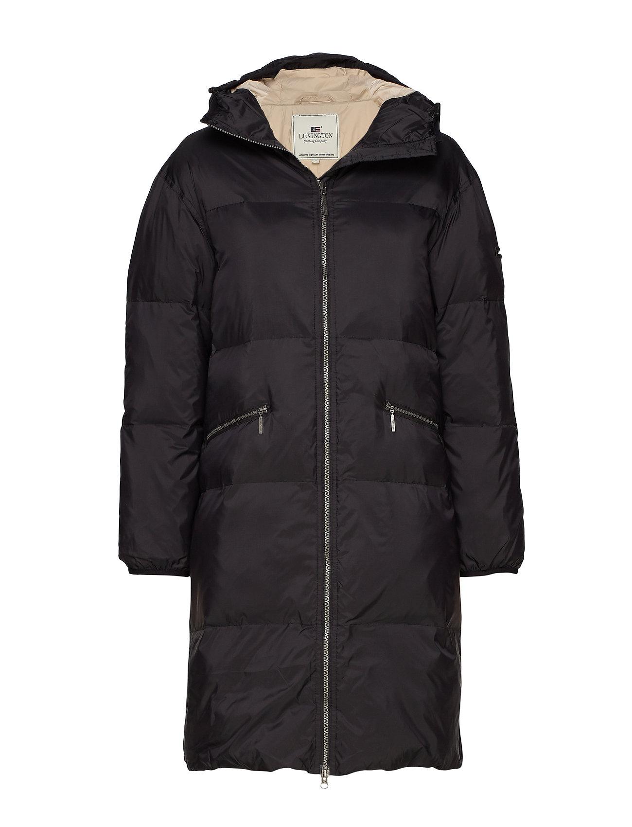 Lexington Clothing Nora Parka - BLACK