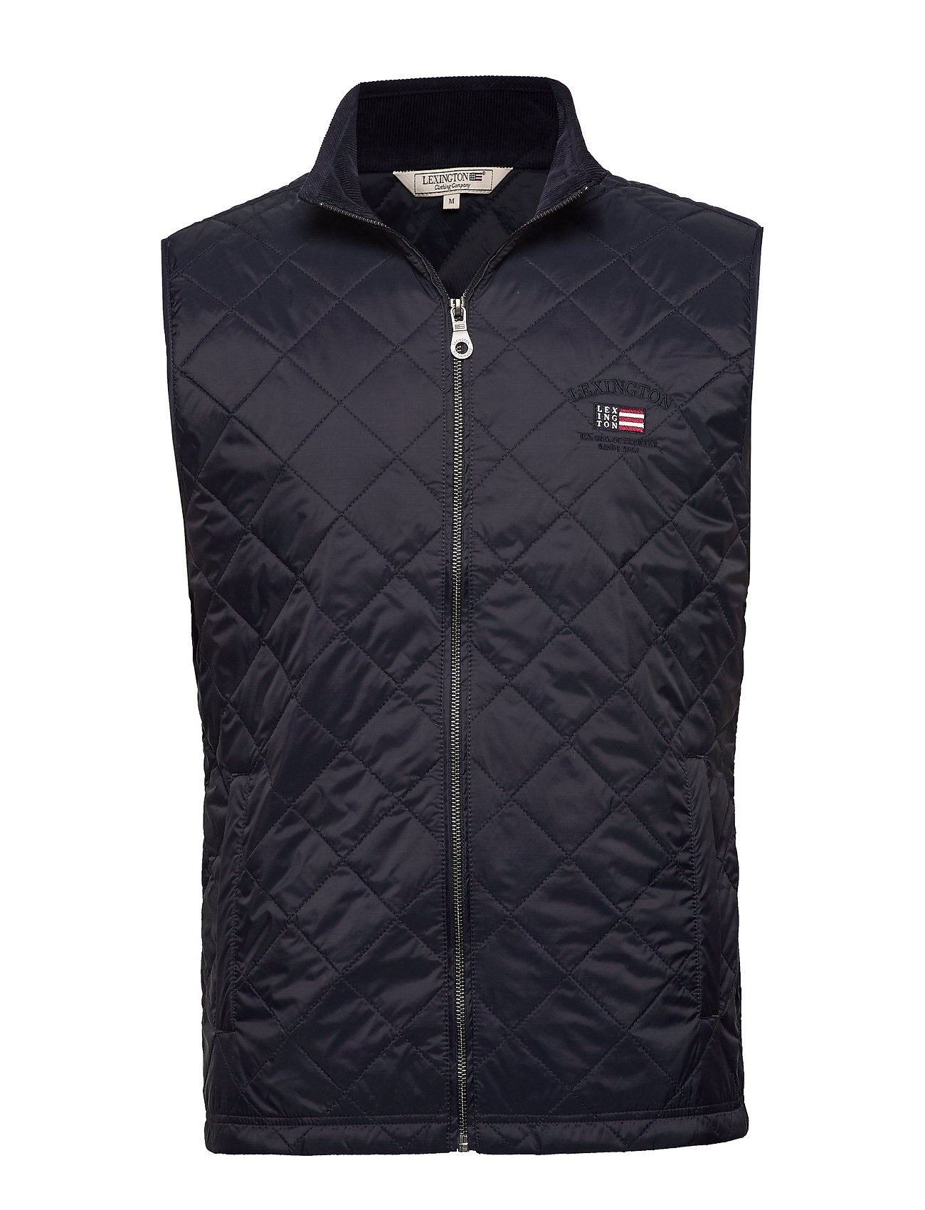 Lexington Clothing Gregory Quilted Vest - DARK BLUE